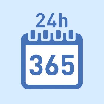 365日受付対応